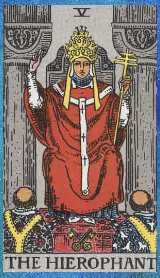 You are currently viewing The Pope – Tarot career