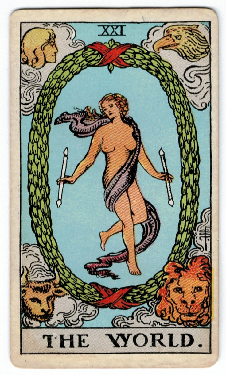 You are currently viewing The World – Tarot career