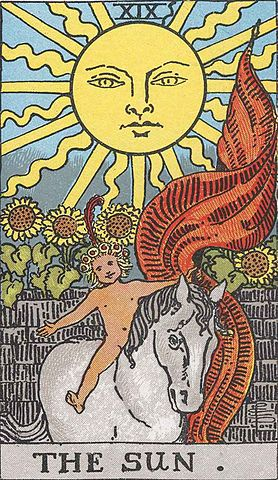 You are currently viewing The Sun – Tarot career