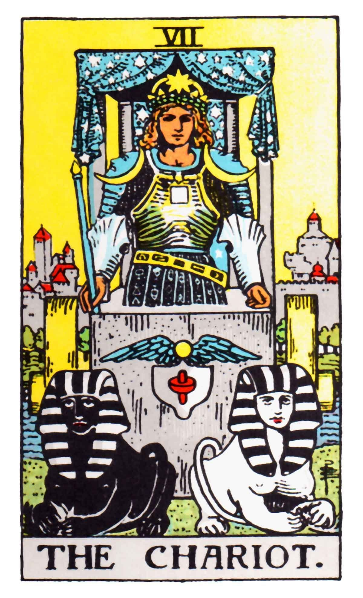 You are currently viewing The Chariot – Tarot career