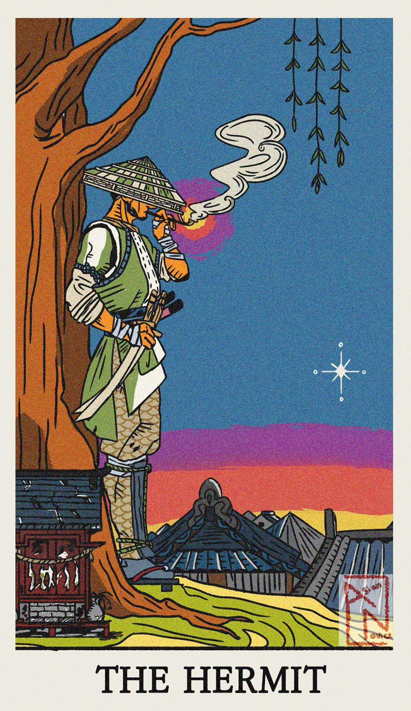 You are currently viewing The Hermit – Tarot career