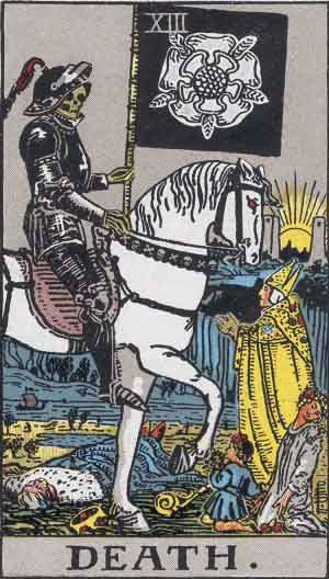 You are currently viewing DEATH – Tarot career