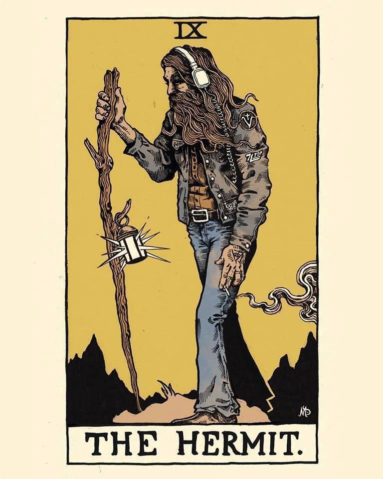 You are currently viewing The Hermit – Tarot Yes Or No