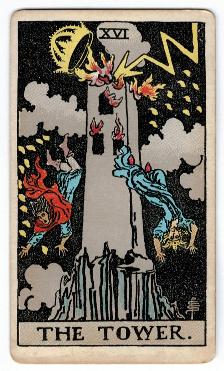 You are currently viewing The Tower – Tarot career