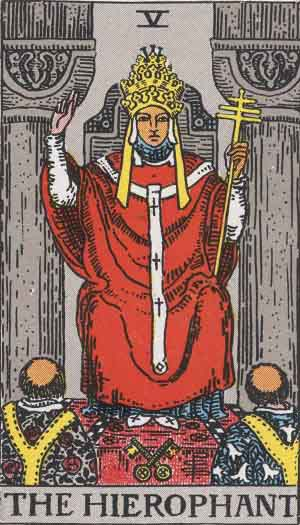 You are currently viewing The Pope – Tarot Yes Or No