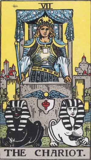 You are currently viewing The Chariot – Tarot Love