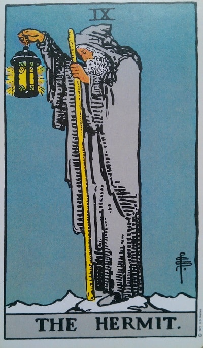 You are currently viewing The Hermit – Tarot Love