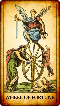 You are currently viewing The Wheel of Fortune – Tarot Yes Or No
