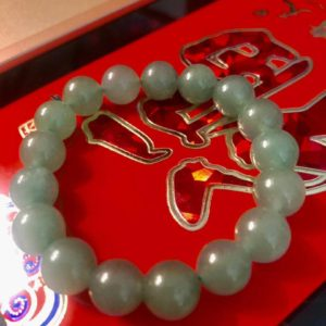 Female Green Aventurine Stone Bracelets